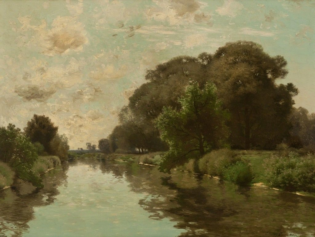 Reflections, a painting by Charles Harry Eaton